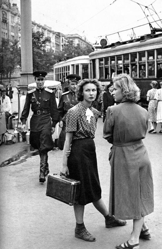 1 Erste westliche Photographen in Moskau 1953