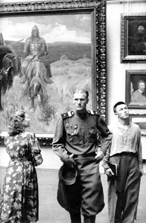 10 Erste westliche Photographen in Moskau 1953