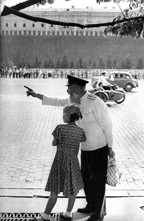 2 Erste westliche Photographen in Moskau 1953