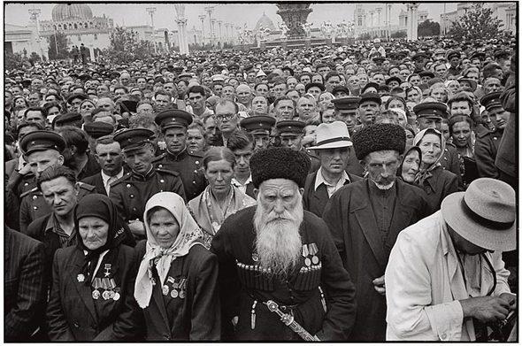 4 Erste westliche Photographen in Moskau 1953
