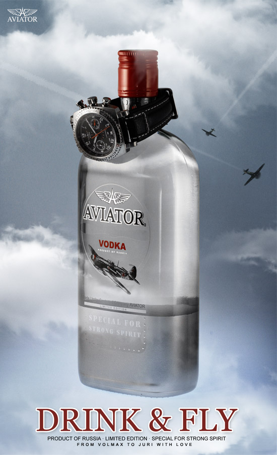 AVIATOR VODKA DAF S AVIATOR | DRINK and FLY