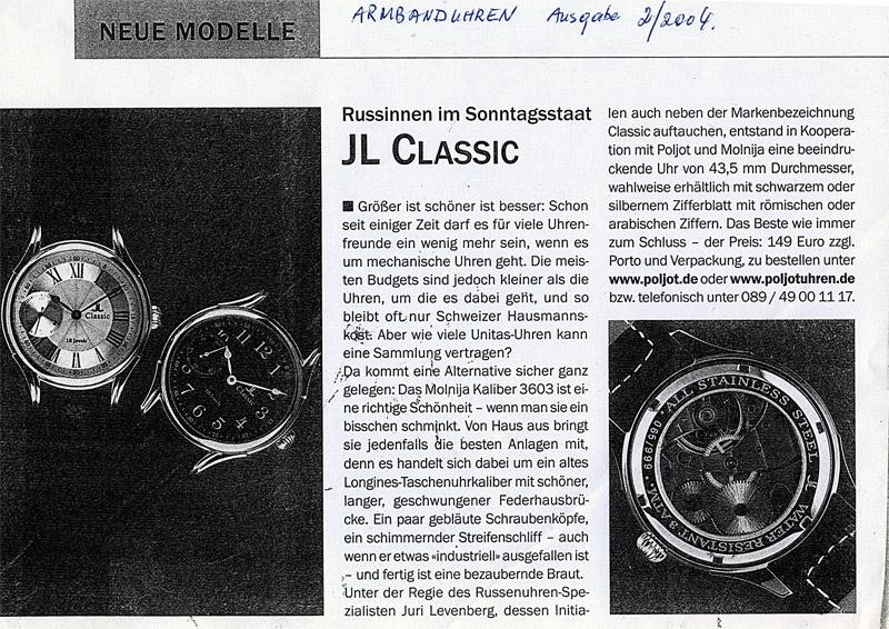 Armbanduhren 02 2004 Armbanduhren 02/04