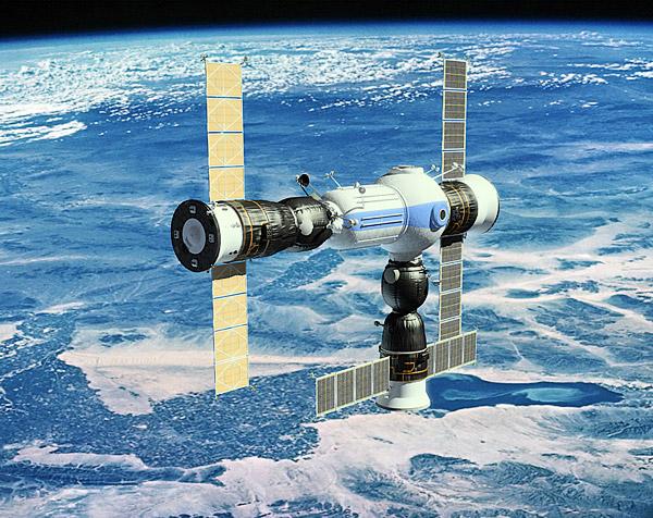 um 4 Die CSS | Russlands Raumstation für Touristen