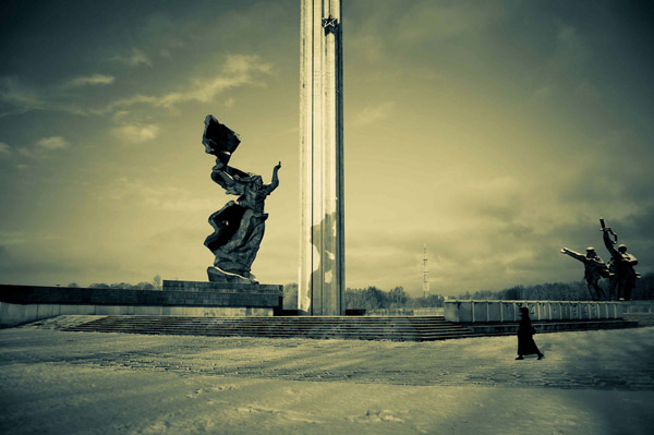 Desmond Kavanagh Riga Soviet Victory Monument s Juri Levenberg | Vita