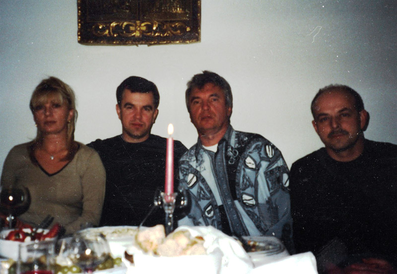 Valentin Volodko Juri Levenberg Igor Zubovskij Zu Besuch in München