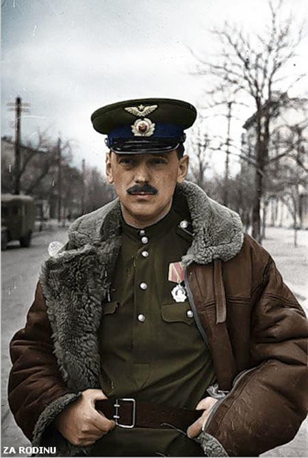 russian soldier 01 Russische Armee | Koloriert WW2