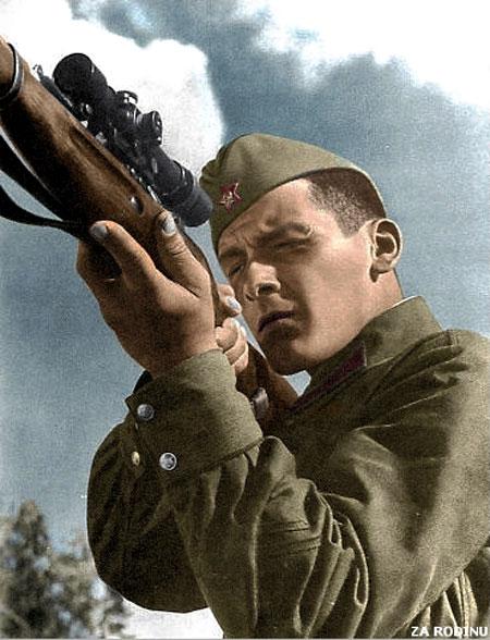 russian soldier 04 Russische Armee | Koloriert WW2