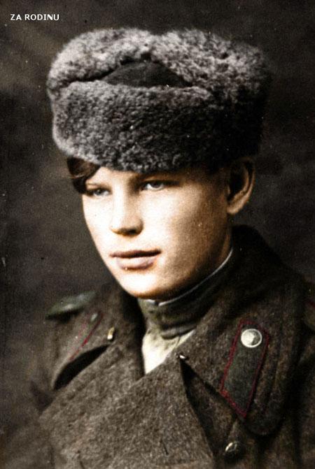 russian soldier 05 Russische Armee | Koloriert WW2