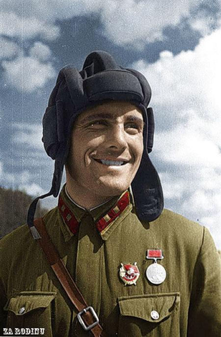 russian soldier 07 Russische Armee | Koloriert WW2