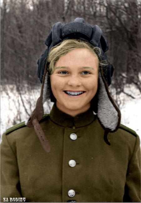 russian soldier 08 Russische Armee | Koloriert WW2