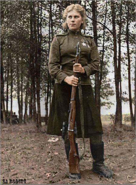 russian soldier 10 Russische Armee | Koloriert WW2