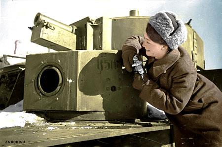 russian soldier 11 Russische Armee | Koloriert WW2