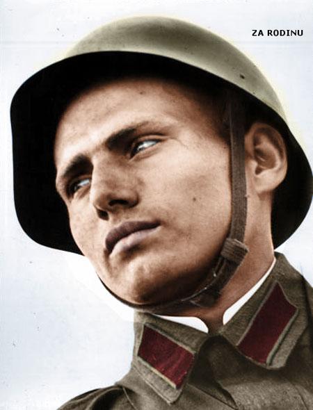 russian soldier 12 Russische Armee | Koloriert WW2