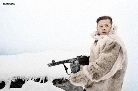 russian soldier 15 Russische Armee | Koloriert WW2