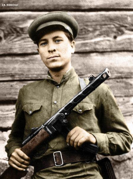 russian soldier 16 Russische Armee | Koloriert WW2