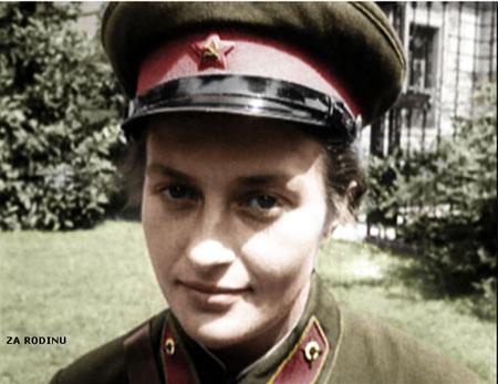 russian soldier 17 Russische Armee | Koloriert WW2
