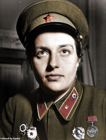 russian soldier 18 Russische Armee | Koloriert WW2