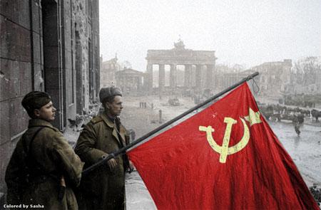 russian soldier 21 Russische Armee | Koloriert WW2