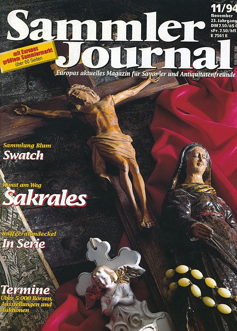 sammler journal 11 94 cover Sammler Journal 11/94